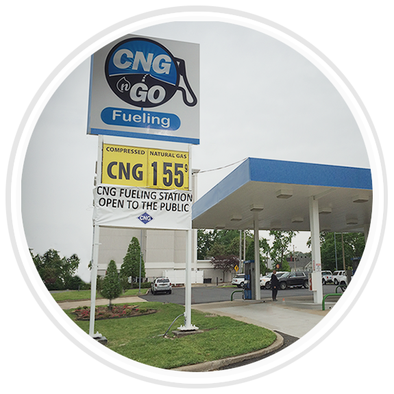 Constructed CNG Fueling Station