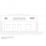 Sapulpa-CNG-Project-North-Elevation